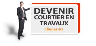 Devenir courtier en travaux